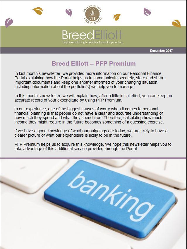 Newsletter - PFP Premium